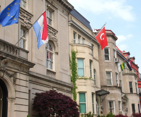 National News delivering to Embassy Row
